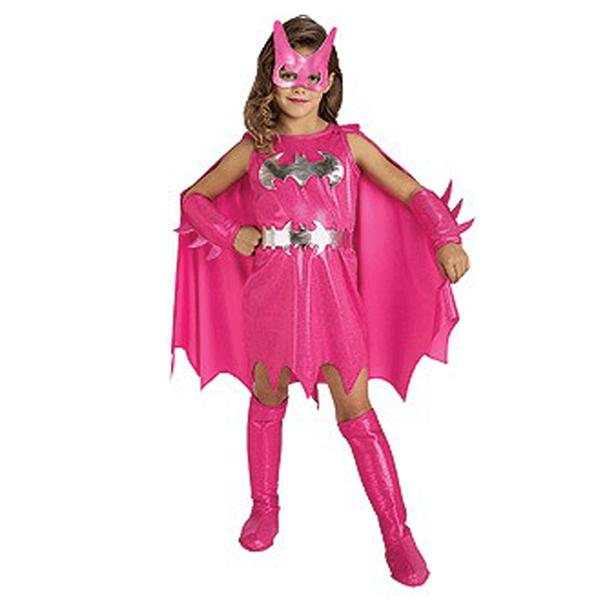 Fato Batgirl Rosa, criança