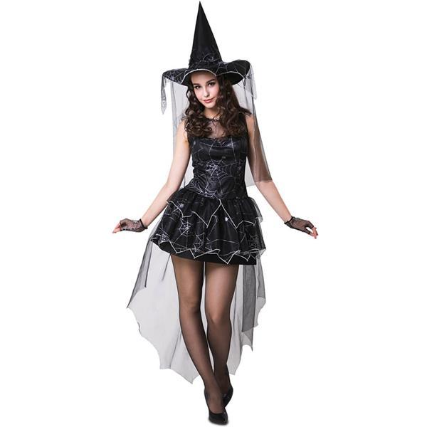 Fato Bruxa Aranha Negra, Adulto