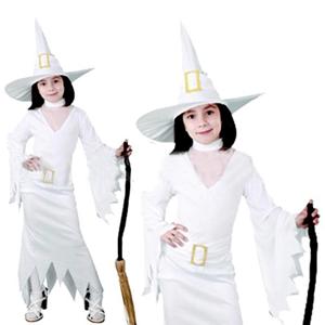 Fato Bruxa Branca, criança
