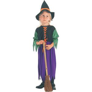 Fato Bruxa Tristonha, criança