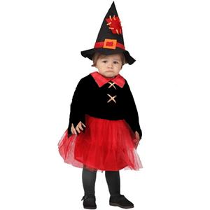 Fato Bruxinha Vermelha, bebé