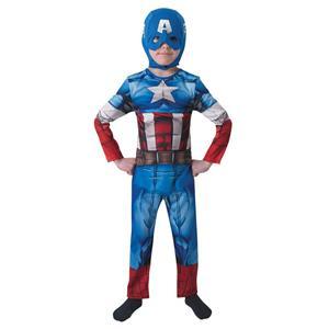 Fato Capitão América Clássico, Criança