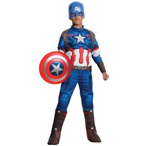 Fato Capitão America Avengers, Criança
