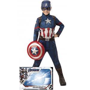 Fato Capitão América c/ Escudo, Criança