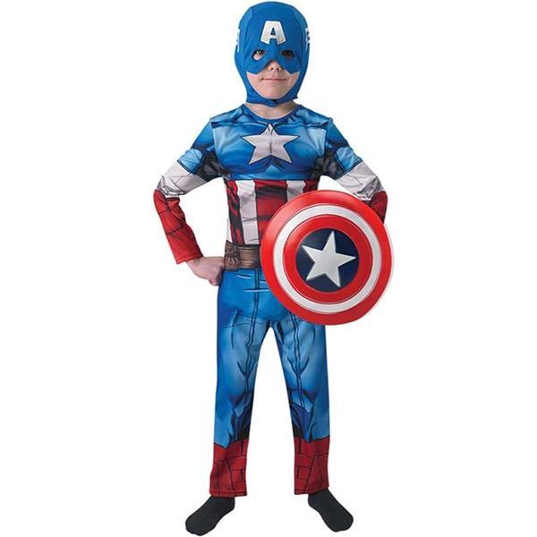 Fato Capitão América com Escudo, Criança