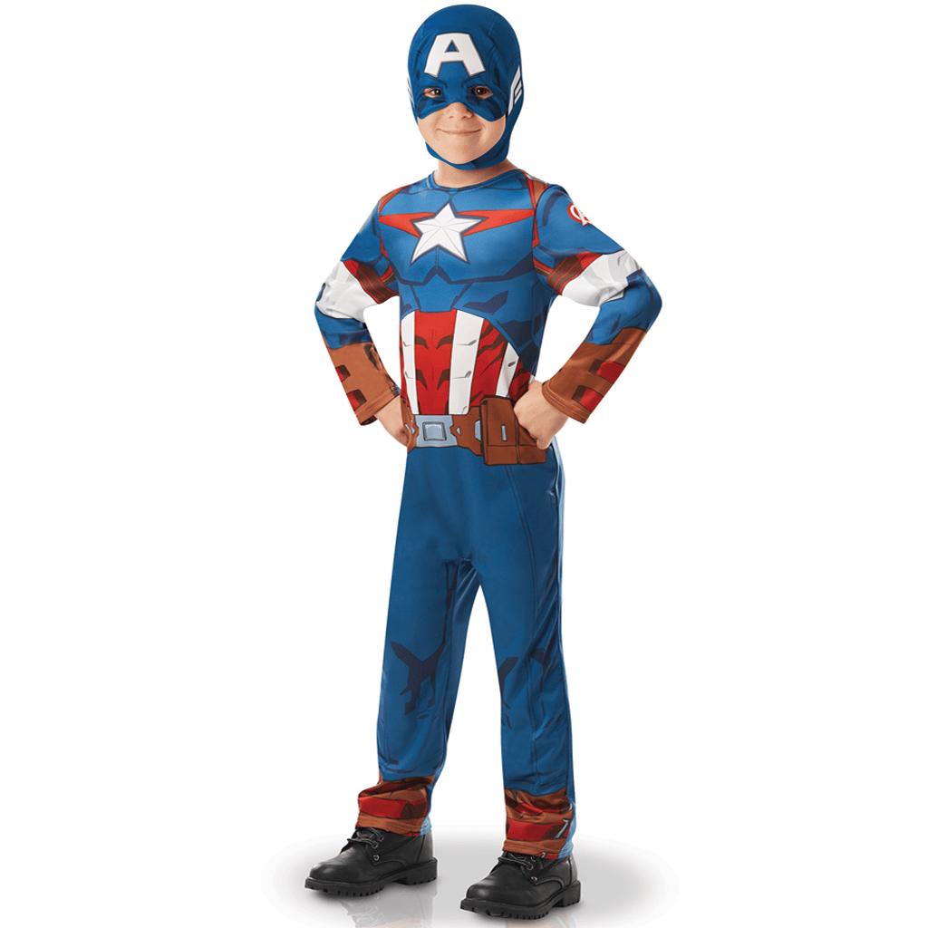 Fato Capitão América, criança