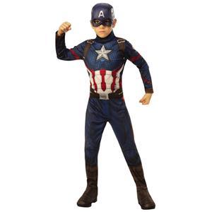 Fato Capitão America Massudo, Criança