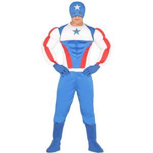 Fato Capitão América SuperStar