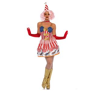 Fato Carrossel do Circo, Adulto