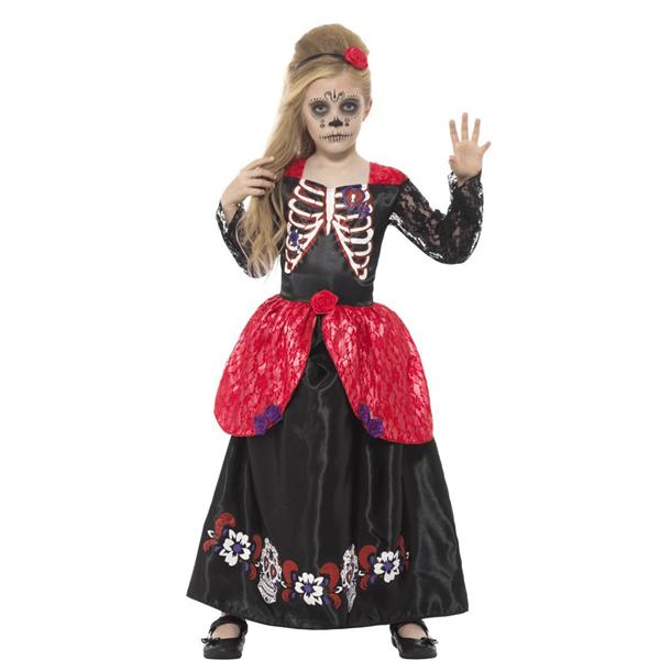 Fato Catrina Dia dos Mortos, Criança