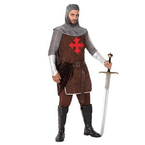 Fato Cavaleiro Cruzado, Homem