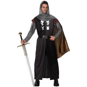Fato Cavaleiro das Trevas Leão & Castela