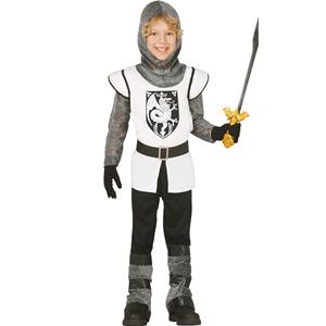 Fato Cavaleiro Dragão Medieval, Criança