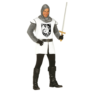 Fato Cavaleiro Dragão Medieval