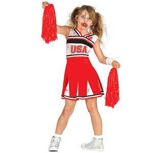 Fato Cheerleader Zombie, Criança