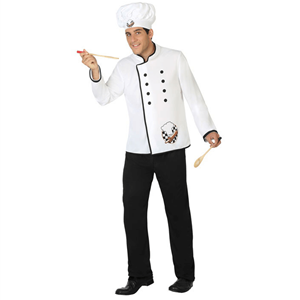 Fato Chef Cozinheiro, Adulto