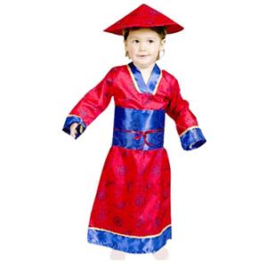 Fato Chinesa Dragões, criança