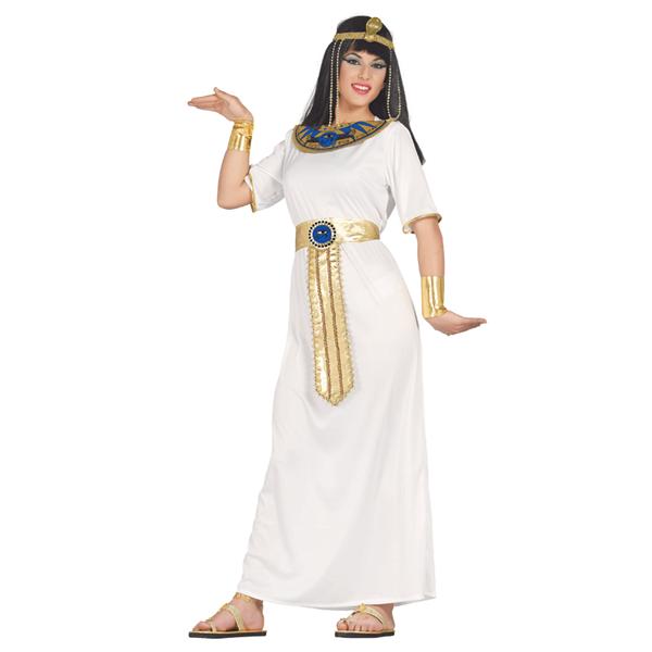 Fato Cleópatra Branco, Adulto