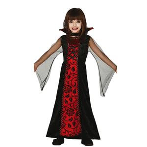 Fato Condessa Vampira, criança
