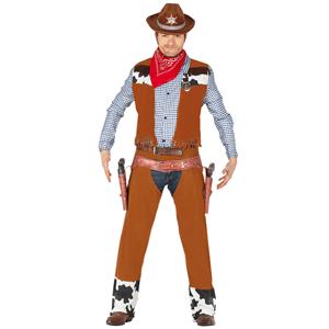 Fato Cowboy Pistoleiro, Adulto