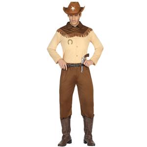 Fato Cowboy Vaqueiro, Adulto