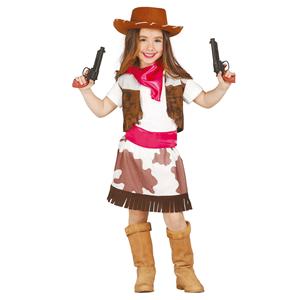 Fato cowgirl, criança