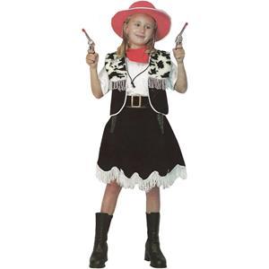 Fato Cowgirl Malhada, criança