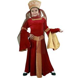 Fato Dama do Véu Medieval, Criança
