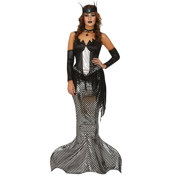Fato Dark Mermaid, Adulto