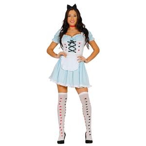 Fato de Alice Wonderland, Adulto
