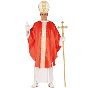 Fato de Arcebispo Vermelho, Adulto