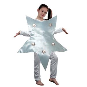 Fato de Estrela em Cetim, criança