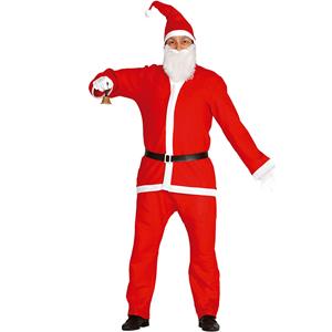 Fato de Pai Natal completo Económico