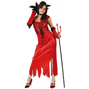 Fato Diaba Vermelha