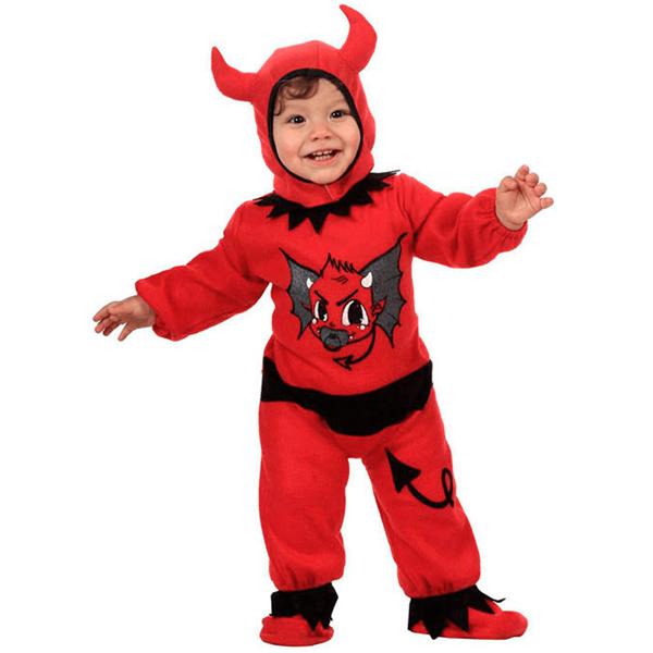 Fato Diabinho Vermelho, Bébe