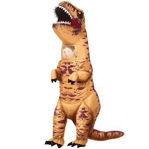 Fato Dinossauro T-Rex Insuflável, Adulto