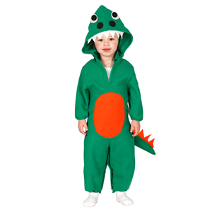 Fato Dinossauro Verde, Bébe