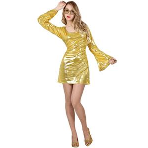 Fato Disco Dourado