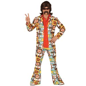 Fato Disco Man Anos 70, Adulto