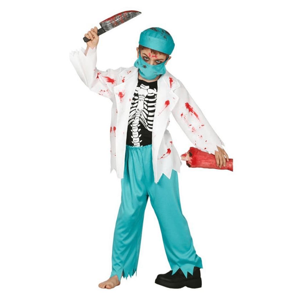 Fato Doutor Esqueleto, Menino