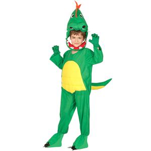 Fato Dinossauro Verde, Criança