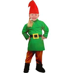 Fato Duende Anão Verde, Criança