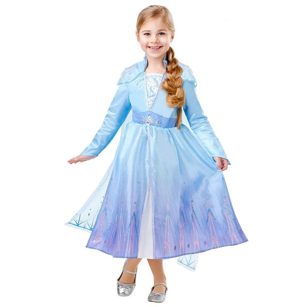 Fato Elsa Deluxe Frozen 2, Criança