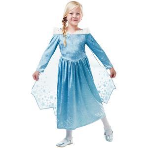 Fato Elsa Deluxe Frozen, Criança