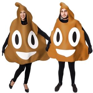 Fato Emoji Cocó, Adulto
