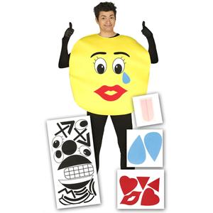 Fato Emoji Personalizável, Adulto