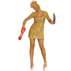 Fato Enfermeira Zombie Decomposição, Adulto