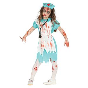 Fato Enfermeira Zombie, Menina