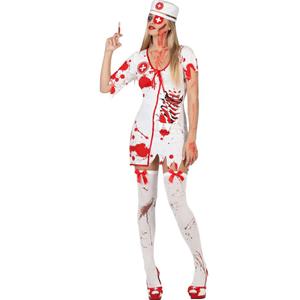 Fato Enfermeira Zombie