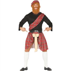 Fato Escocês com Surpresa, Adulto